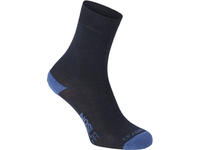 Craghoppers Single NosiLife Travel Socks Herre dark navy/soft denim